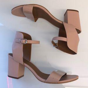 14th & Union Ankle Strap Block Heel Sandal
